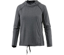 Threadborne Train Hoodie Damen, BLACK