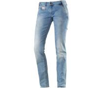 Vegas Skinny Fit Jeans Damen, blau