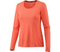 Dri-Fit Contour Langarmshirt Damen, orange