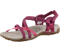 Terran Lattice II Outdoorsandalen Damen, rot