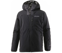 Dutch Hollow Hybrid Daunenjacke Herren, schwarz