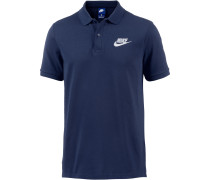 NSW Poloshirt Herren, binary-blue-white