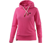Mandy X Langarmshirt Damen, pink melange