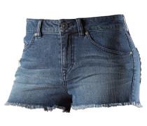 Stix Hi Rise Jeansshorts Damen, blau