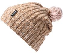 Wool Pom Bommelmütze