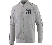 New York Yankees Collegejacke Herren, grau