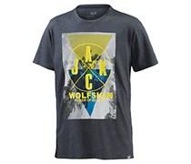 Jack Wolfskin Masterton T-Shirt Herren, blau