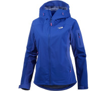 Water Ice Softshelljacke Damen, blau