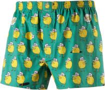 Zitrone Boxershorts Herren, grün