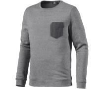 Mocket Sweatshirt Herren, grau