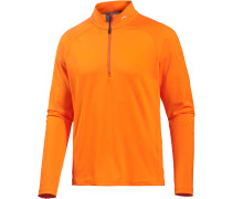 Second Skin Langarmshirt Herren, orange