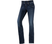 Gen Straight Fit Jeans Damen, blau