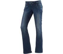 Valerie Bootcut Jeans Damen, blau