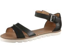 Sandalen Damen, schwarz