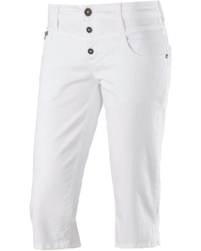 Kairina 3/4-Jeans Damen, weiß