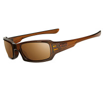 Fives Squared Sonnenbrille, polished rootbeer/dark bronze
