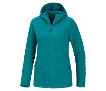 Buffalo Fleecejacke Damen, türkis