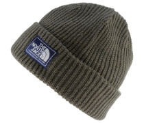 Salty Dog Beanie, new taupe green/burn tolve marl