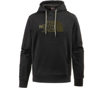 Light Drew Peak Hoodie Herren, tnf black-new taupe green