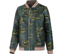 Bomberjacke Damen, deep green lake
