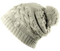 Knitted & Polar Hat Bommelmütze, gelb