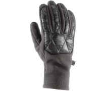 Thermoball Etip Fleece Handschuhe Damen, schwarz