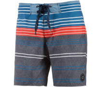 Crime Boardshorts Herren, blaugrau/orange