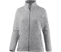 Kipapa Fleecejacke Damen, grey light