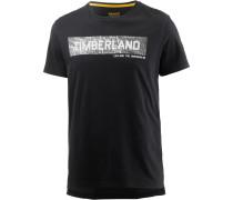 T-Shirt Herren, BLACK