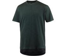 T-Shirt Herren, ARTILLERY GREEN/BLACK/BLACK