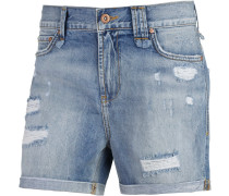 Shorts Damen, blau