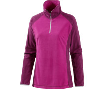 Glacial Fleecepullover Damen, Deep Blush