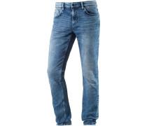 CULVER Slim Fit Jeans Herren, bleached blue denim