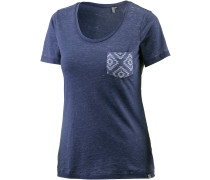 Tera T-Shirt Damen, blau