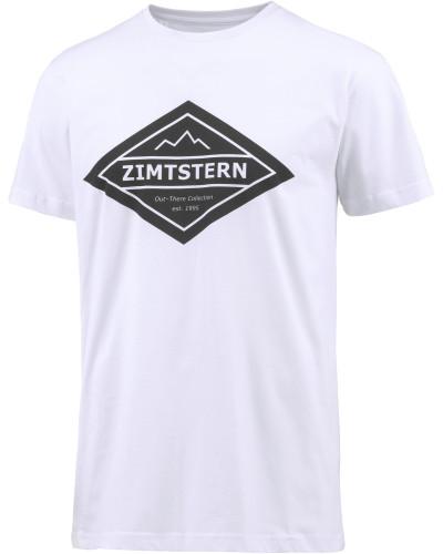 Octoz Printshirt Herren, weiß