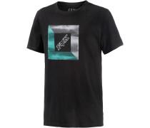 Moratorium Printshirt Herren, schwarz