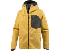 Thermal WindWall Softshelljacke Herren, arrowwood yellow/heather
