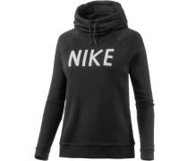 Sweatshirt Damen, schwarz