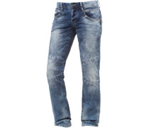 Jason Straight Fit Jeans Herren, blau