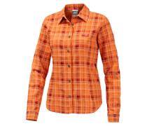 Jack Wolfskin Valley Funktionsbluse Damen, orange
