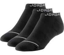Socken Pack Herren, BLACK/BLACK/BLACK