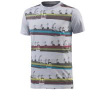 Sequence Stripes T-Shirt Herren, grau