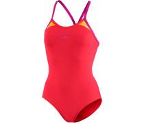 Splice Thinstrap Racerback Schwimmanzug Damen, mehrfarbig