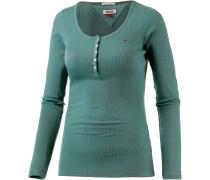 Langarmshirt Damen, grün
