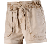 Shorts Damen, gelb