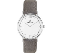 Uhr Campina/Campus White Silver Grey Vintage CA03A0202D11A