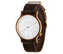 Herrenuhr Walter Walnut Tanned Brown WATWWAL9899