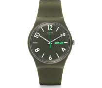 Herrenuhr Backup Green SUOG706