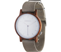Uhr Walter Walnut Concrete Grey WATWWAL9882