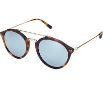 Sonnenbrille Fitzroy Matt Tortoise Blue Mirrored Glass KS04-DTM-BMG